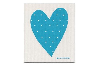 Obrázok pre výrobcu Hubka - srdce tyrkysové