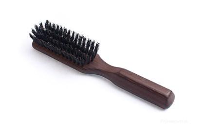Obrázok pre výrobcu Kefa na vlasy z termodreva s diviačími štetinami - 5-radová