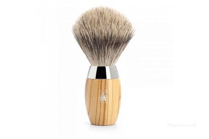 Obrázok pre výrobcu Štetka na holenie KOSMO - olivové drevo  a jemný jazvec