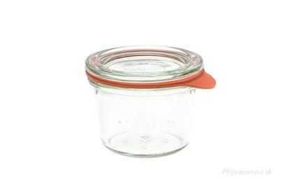 Obrázok pre výrobcu Zavárací pohár Weck mini - 80ml