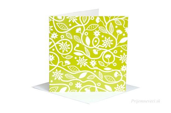 Blahoželanie - zelená lúka