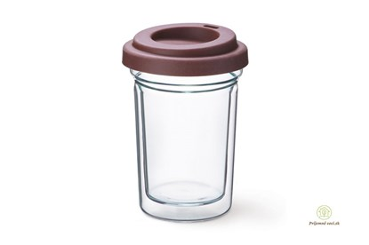 Obrázok pre výrobcu Dvojstenný pohár Simax - Coffee to go
