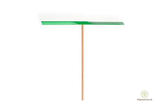 Drevená vrtuľa - zelená