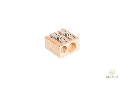 Obrázok pre výrobcu Drevené dvojité strúhadlo