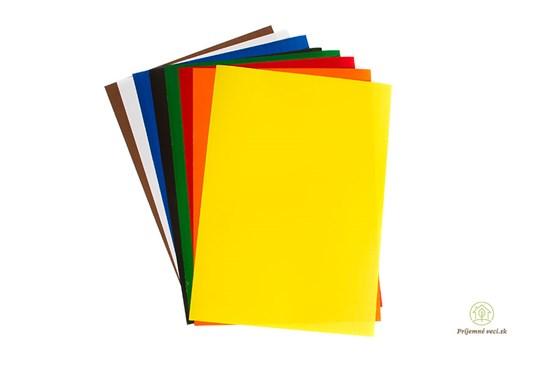 Samolepiace farebné papiere - 8ks