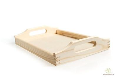 Obrázok pre výrobcu Drevený podnos - malý