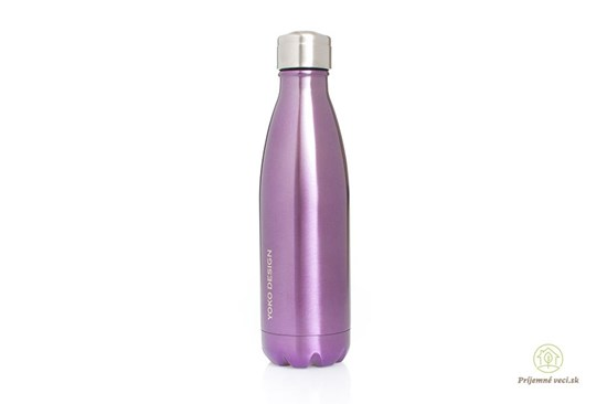 Termofľaša Yoko Design - 500ml - fialová