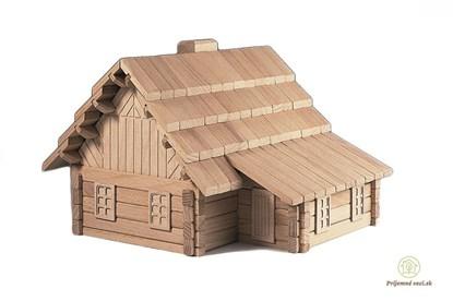 Obrázok pre výrobcu Drevená stavebnica Archaprogram 3