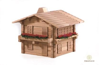 drevená stavebnica škola