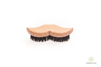 Obrázok pre výrobcu Kefa na bradu a fúzy z bukového dreva