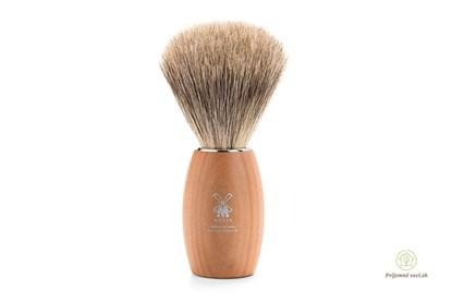 Obrázok pre výrobcu Štetka na holenie Modern - slivka a jemné štetiny z jazveca