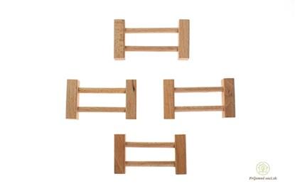 Obrázok pre výrobcu Drevená stavebnica Archa krátky plot - 4ks