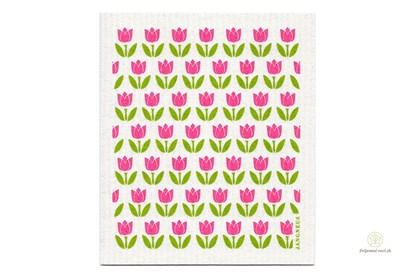 Obrázok pre výrobcu Hubka - malé tulipány ružové