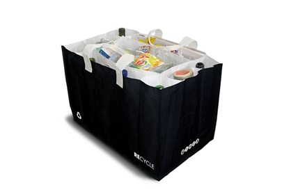Obrázok pre výrobcu Taška na triedenie odpadu Sakatri - čierna