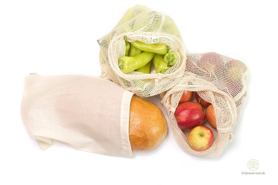 a8db4a2239 Sada vreciek na potraviny Príjemné veci - domácnosť bez odpadu ...