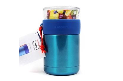 Obrázok pre výrobcu Goodbyn -Termoska na jedlo so skleneným vrchnákom 473ml-modrá