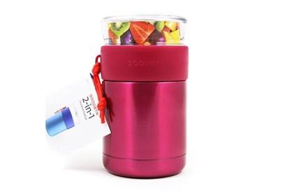 Obrázok pre výrobcu Goodbyn -Termoska na jedlo so skleneným vrchnákom 473ml-ružová