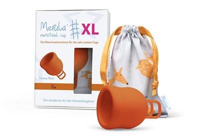 Obrázok pre výrobcu Menštruačný kalíšok Merula XL - líška