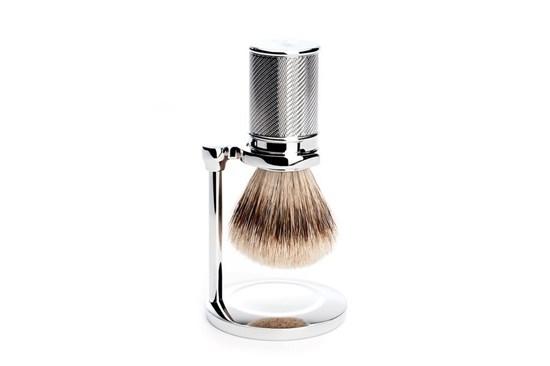 Stojan na klasickú štetku na holenie