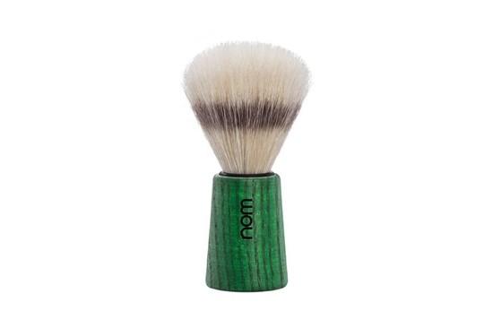 Štetka na holenie THEO - zelený jaseň