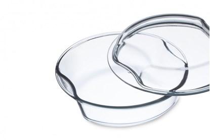 Obrázok pre výrobcu Sklenená zapekacia misa okrúhla Simax - 2,5l + 1,5l