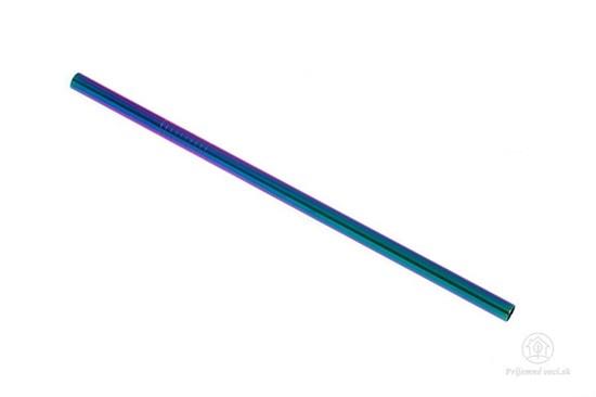 PV - farebná slamka rovná s kefkou