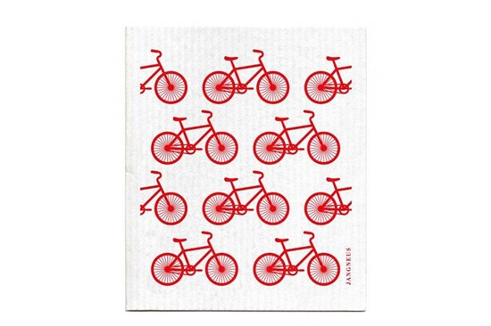 Hubka - malé bicykle červené