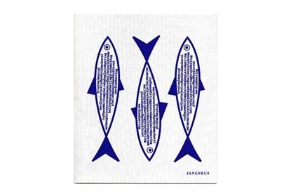 Obrázok pre výrobcu Hubka - ryby modré