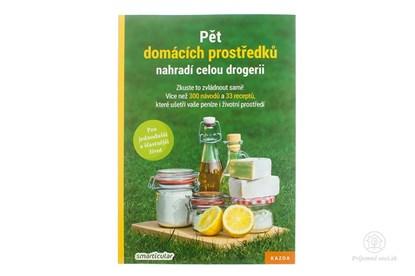 Obrázok pre výrobcu Pět domácích prostředků nahradí celou drogerii - kniha