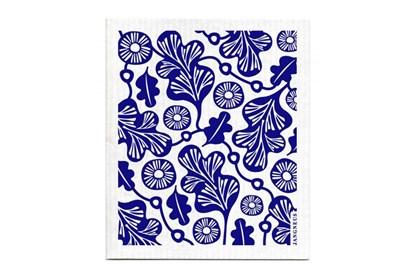 Obrázok pre výrobcu Hubka - dubový list - modrý