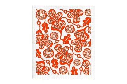 Obrázok pre výrobcu Hubka - dubový list - oranžový