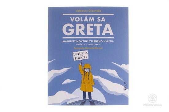 Volám sa Gréta - kniha