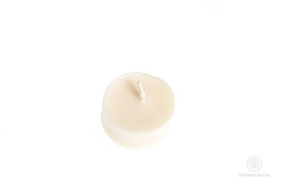 Čajová sviečka zo sójového vosku - bez obalu