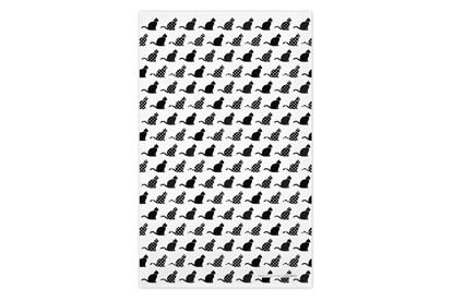 Obrázok pre výrobcu Utierka - mačky čierne