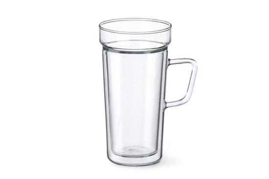 Dvojstenný pohár na latté Simax - 2ks