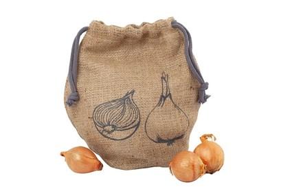 Obrázok pre výrobcu Jutové vrecko na cibuľu