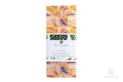 Obrázok pre výrobcu Vegan voskovaný obrúsok stredný -rastlinky