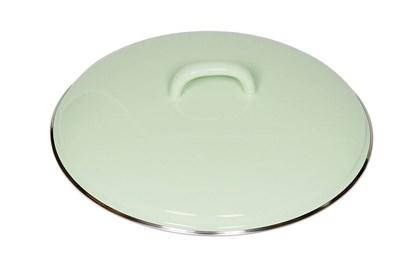 Obrázok pre výrobcu Smaltovaná pokrievka - 22cm - zelená