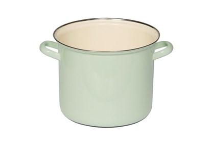 Obrázok pre výrobcu Smaltovaný hrniec vysoký - 6L - zelený