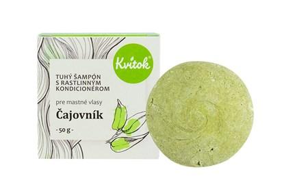 Obrázok pre výrobcu Tuhý šampón Kvitok - čajovník 50g