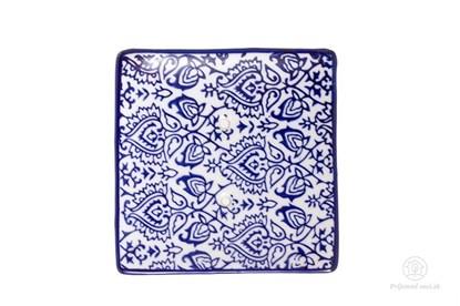 Obrázok pre výrobcu Keramická mydelnička štvorcová - ornament