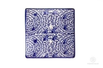 Obrázok pre výrobcu Keramická mydelnička štvorcová - záhon
