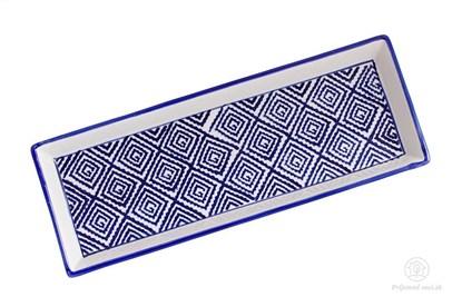 Obrázok pre výrobcu Keramická tácka - štvorčeky