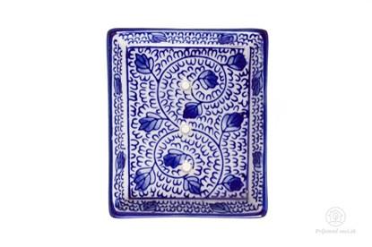 Obrázok pre výrobcu Keramická mydelnička obdĺžniková - záhon