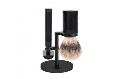 Obrázok pre výrobcu Set na holenie ROCCA - čierny