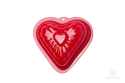 Obrázok pre výrobcu Kovová formička do piesku - červené srdce