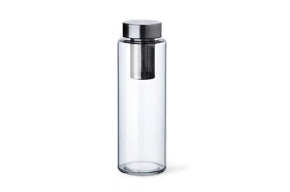 Obrázok pre výrobcu Sklenená fľaša Simax Pure Aqua so sitkom - 1l