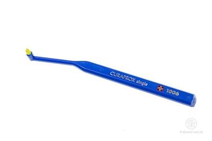 Obrázok pre výrobcu Jednozväzková zubná kefka Curaprox Single - tmavomodrá